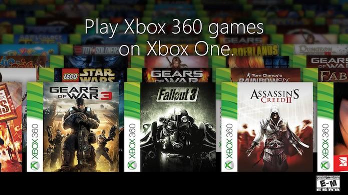 Microsoft divulgou lista dos primeiros games de Xbox 360 que rodam no Xbox One (Foto: Divulgação/Microsoft)