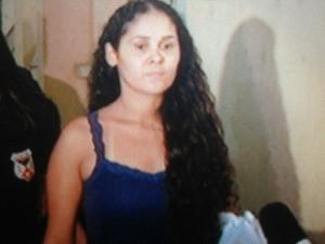 Francimeire de Souza Araújo, esposa de Beto Baba (Foto: Reprodução/TV Rondônia)