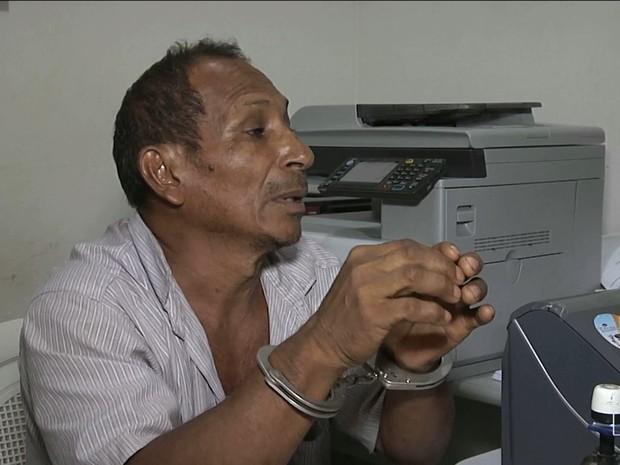 Suspeito será autuado por maus tratos e cárcere privado (Foto: Reprodução/TV Mirante)