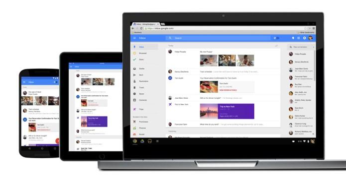 Inbox by Gmail é o app inteligente de gerenciamento de emails do Google (Foto: Divulgação)