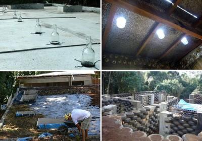 A Casa Orgânica possui uma massa que permite poupar energia pra aquecer ou resfriar o ambiente (Foto: Divulgação)