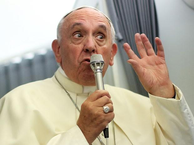O pontífice argentino admitiu que não entende muito sobre esse assunto (Foto: Reuters)