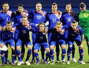 Croácia Seleção Euro -  29/02/2012 (Foto: Agência AFP)