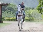 Humberto Martins revela paixão por cavalos: 'Fantasiava ser um herói, um cowboy'
