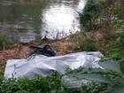 Corpo é retirado do rio Sorocaba em Votorantim