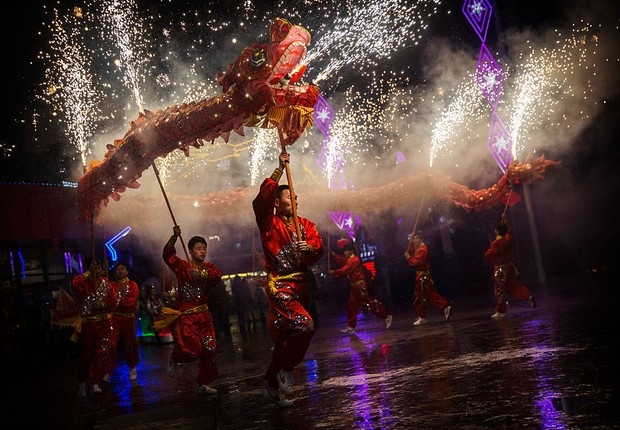 Festival de Primavera na China (Foto: Kevin Frayer/Getty Images)
