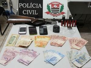 Segundo a Polícia Civil, traficantes agiam em 'baladas' em Presidente Epitácio (Foto: Cedida/Polícia Civil)