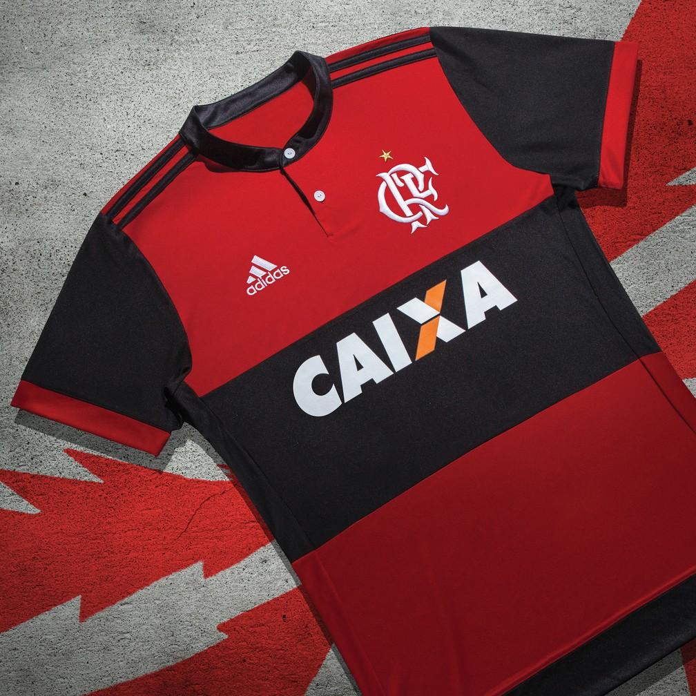 Essa é a nova camisa do Flamengo (Foto: Divulgação)