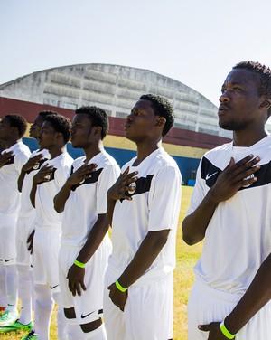 Pérolas Negras, equipe do Haiti disputará Copa São Paulo (Foto: Vitor Madeira / ONG Viva Rio)