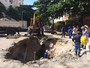 Cratera volta a se abrir em Ipanema, na Zona Sul do Rio