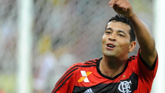 André Santos, Fluminense x Flamengo (Foto: Alexandre Vidal/Fla Imagem)