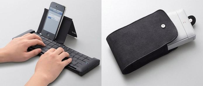 Baratinho, modelo da Elecom dobra e vira uma caixa portátil (Foto: Divulgação/Elecom})
