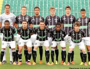 Equipe junior do Figueirense (Foto: Luiz Henrique, divulgação / FFC)