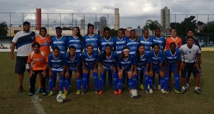 Taubaté Futebol Feminino (Foto: Reprodução/Facebook)