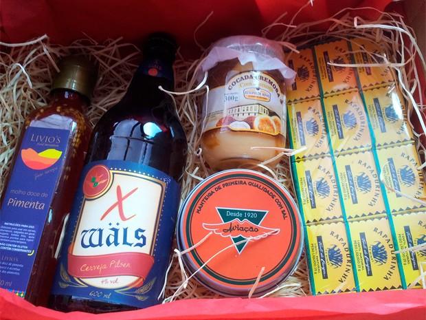"""'Oh! Minas"""" oferece assinatura de kits mensais com produtos que reforçam a identidade do estado (Foto: Arquivo Pessoal)"""