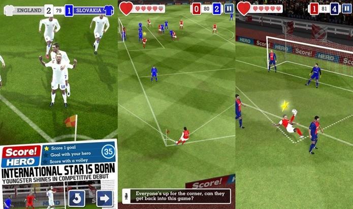 Game de futebol aposta em jogabilidade inovadora e muitas fases (Foto: Divulgação / First Touch Games)