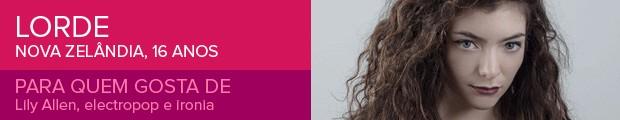 Lorde  (Foto: Divulgação)