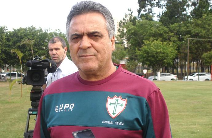 Benazzi treino Portuguesa (Foto: Andre Guerreiro)