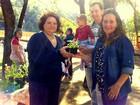 Grupo realiza piquenique de troca de sementes e mudas em Piracicaba, SP