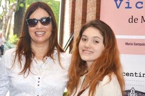 Isadora Ribeiro e a filha, Maria (Foto: Arquivo pessoal)