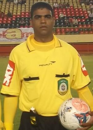 Fledes Rodrigues Santos, árbitro de Rondônia (Foto: Arquivo Pessoal)
