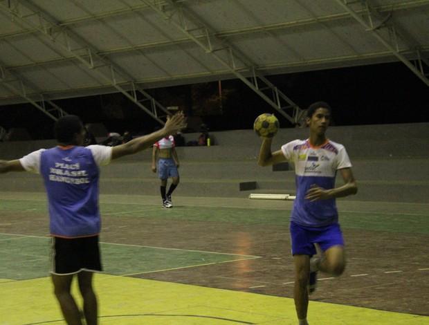 Breno Soares, handebol do Piauí (Foto: Wenner Tito)