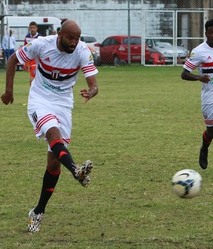 Nunes, atacante do Botafogo-SP (Foto: Rogério Moroti / Agência Botafogo)