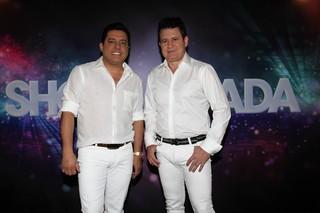 Bruno e Marrone na gravação do Show da Virada em São Paulo (Foto: Cláudio Augusto/ Foto Rio News)