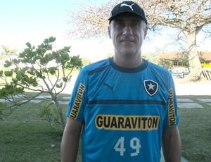 Flavio Tenius, preparador goleiros Botafogo (Foto: Fred Huber / Globoesporte.com)