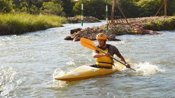 Itiquira recebe núcleo de canoagem slalom (Foto: Alessandro Ferreira/Site prefeitura)