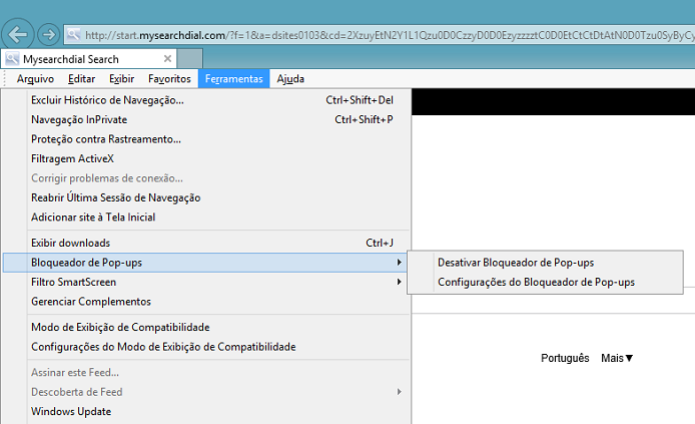 Internet Explorer também tem bloqueador de pop-ups (Foto: Aline Jesus/TechTudo) (Foto: Internet Explorer também tem bloqueador de pop-ups (Foto: Aline Jesus/TechTudo))
