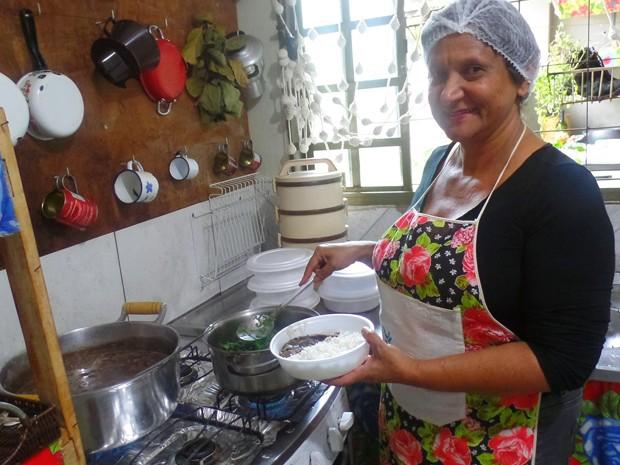 culinária vegana Uberaba feijoada vegana Leila Maria (Foto: Leila Reis/ Arquivo Pessoal)