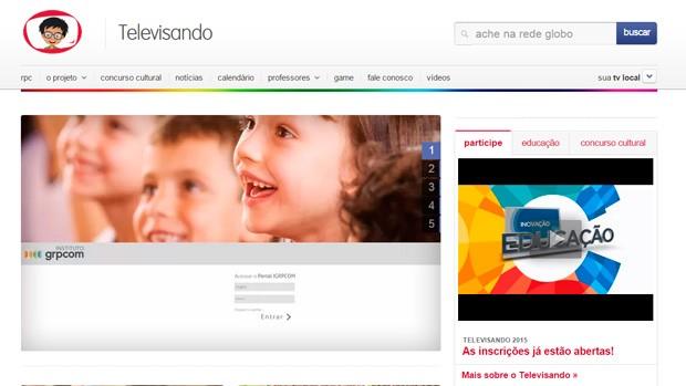 Nosso site está de cara nova ( Reprodução/RPC)