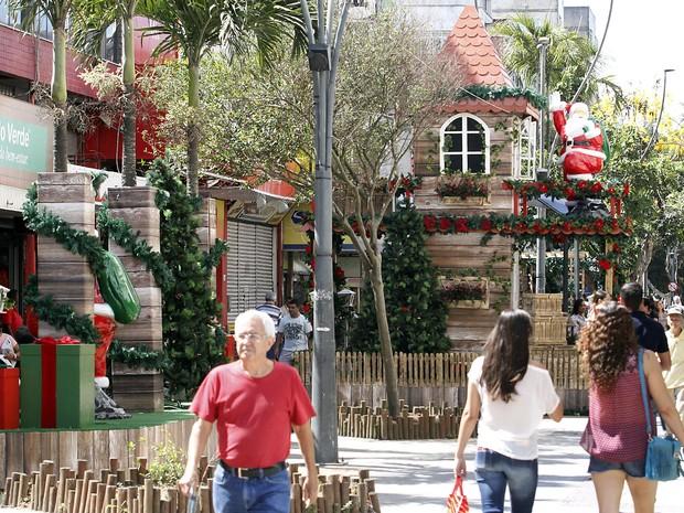 Decoração de Natal em Macaé (Foto: João Barreto/Secom Macaé)