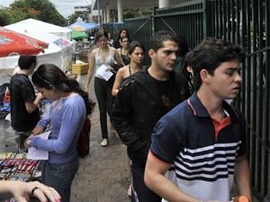 Enem entrada Malhação (Foto: Arquivo / ABr)
