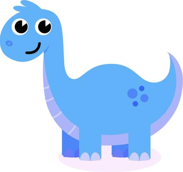 Dinoussauro azul é o novo personagem do Facebook para alertar sobre privacidade online (Foto: Pond5)
