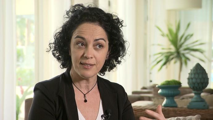 A filósofa Márcia Tiburi reflete sobre feminismo e combate ao machismo (Foto: TV Bahia)