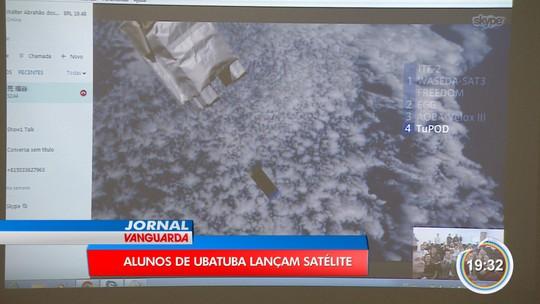 Alunos de escola pública de Ubatuba lançam satélite no espaço