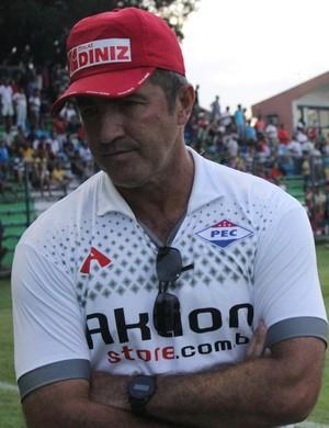 Paulo Moroni - técnico Piauí (Foto: Emanuele Madeira/GLOBOESPORTE.COM)