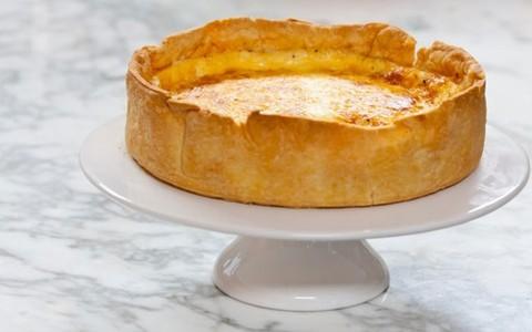 Quiche de queijo branco com alho-poró: veja a receita da Rita Lobo