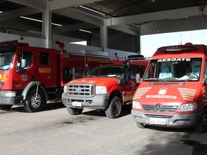 A unidade dos bombeiros de Petrolina, PE é responsável pela cobertura de outros 16 municípios. (Foto: Carol Souza / G1)