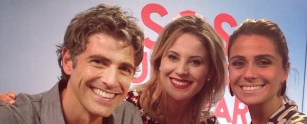 Jessica Leão entrevista o elenco do filme 'SOS Mulheres ao Mar' (Foto: Reprodução / TV Diário)