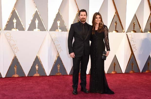 Christian Bale e sua esposa, Sibi Blazic (Foto: Getty Images)