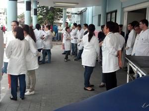 Atendimento foi reforçado no Pronto Socorro de Pelotas (Foto: Divulgação/Prefeitura de Pelotas)