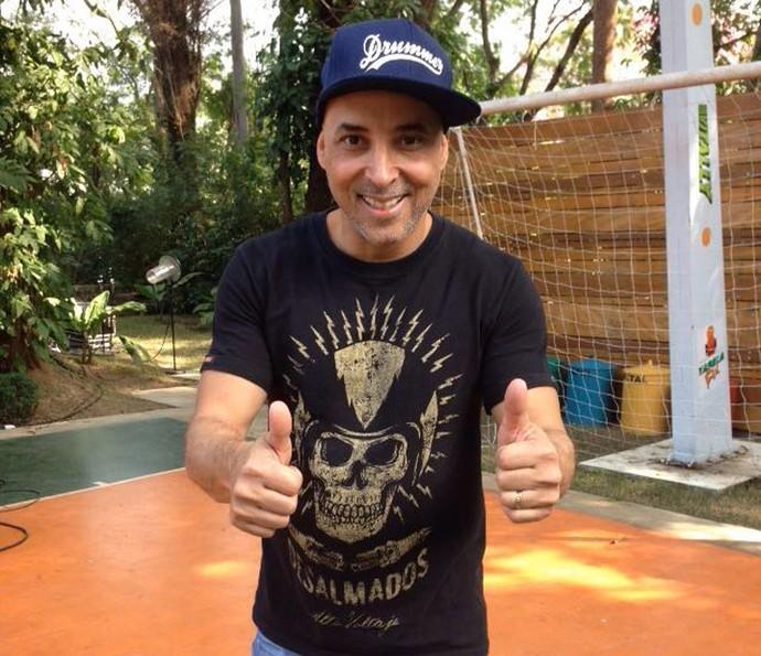 Paulinho Fonseca, baterista do Jota Quest, conta que tem uma irmã especial (Foto: Janaína Ornellas/Gshow)