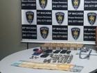 Suspeitos de homicídio e tráfico são presos (Divulgação/Polícia Civil)