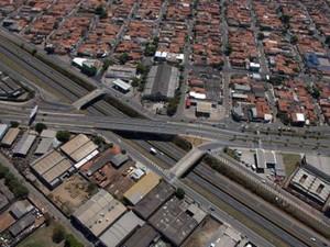 Vista da área industrial de Indaiatuba  (Foto: Eliandro Figueira/Divulgação Prefeitura de Indaiatuba)
