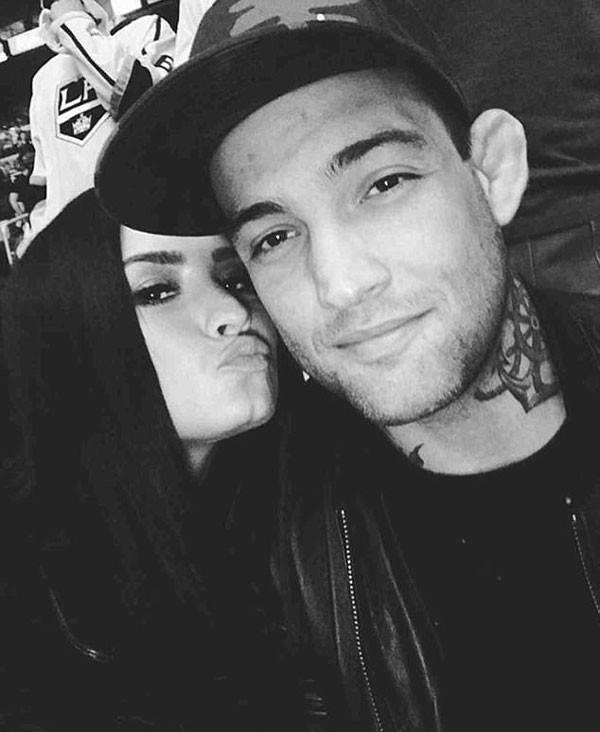 O último relacionamento da cantora foi com o lutador brasileiro de MMA Guilherme Bomba Vasconcelos (Foto: Reprodução/Instagram)