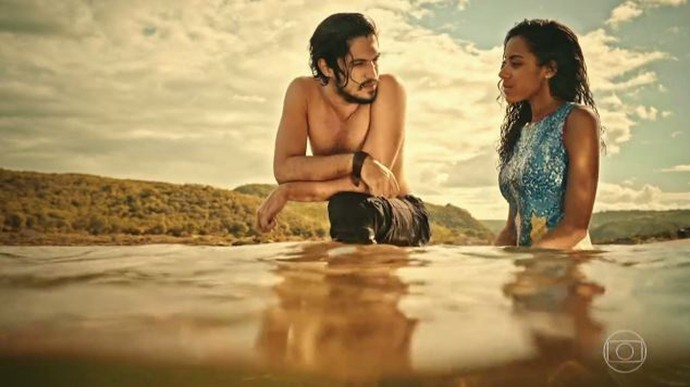 Miguel e Sophie vão colocar um ponto final na relação (Foto: TV Globo)