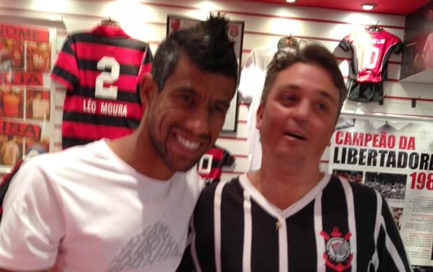 Léo Moura Loja Flamengo (Foto: Divulgação)